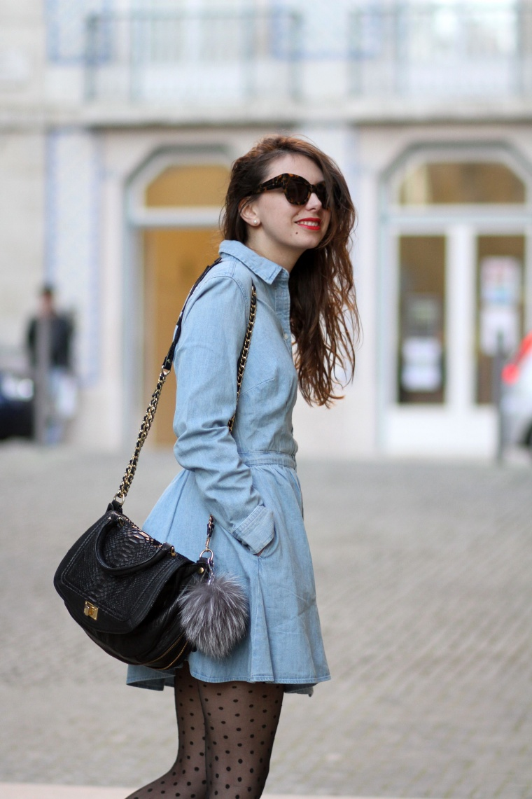 La Robe En Jean The Brunette